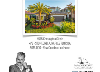 JUST SOLD - Stonecreek