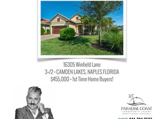 JUST SOLD - CAMDEN LAKES