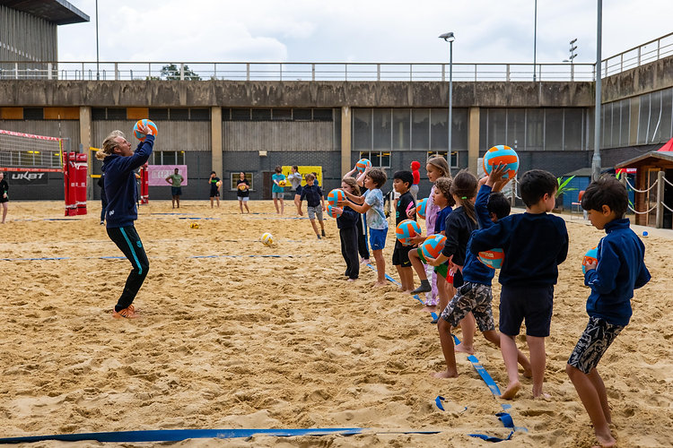 Deep Dish Beach Volleyball