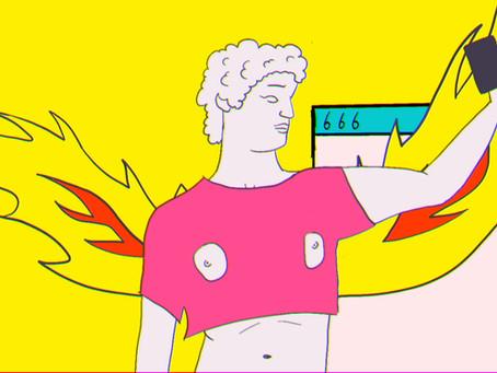Google's Eyes, Yellow Submarine Style Music Video