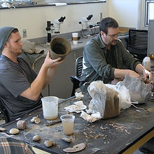 ENMU Anthropology ceramics lab