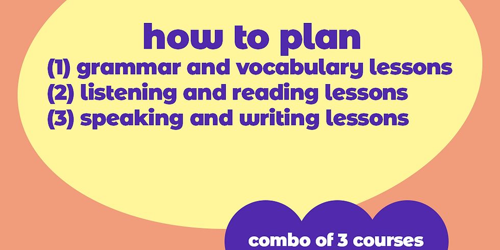 How to plan - COMBO | Online |