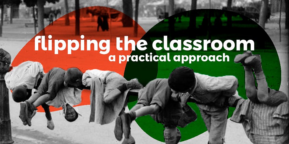 Flipping the classroom - a practical approach (3): productive skills lessons | Online |