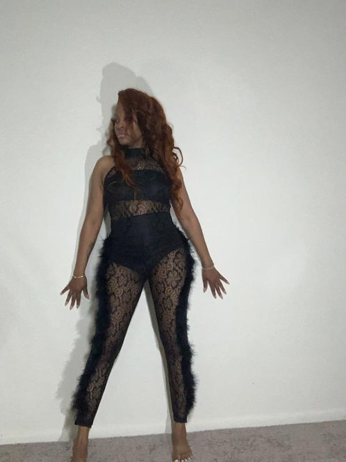 Sexy Lace Mesh Bodysuit
