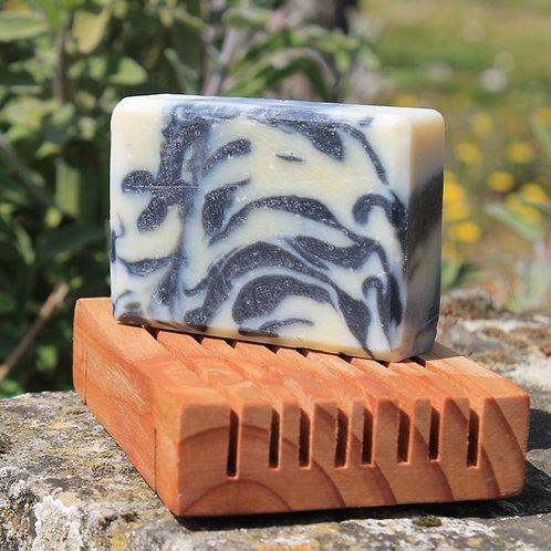 Porte savon en bois non-traité