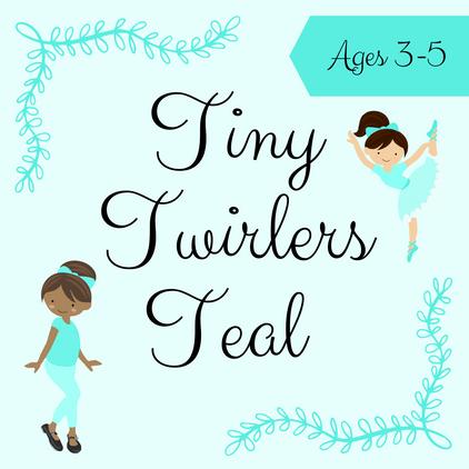 Tiny Twirlers Teal