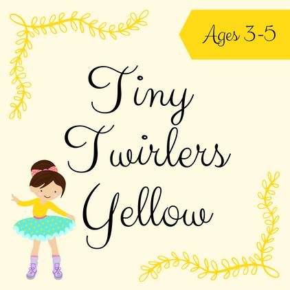 Tiny Twirlers Yellow