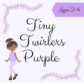 Tiny Twirlers Purple