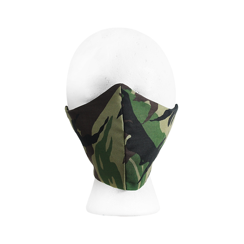 Camouflage print Mask