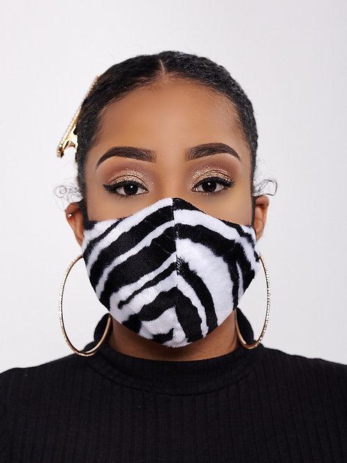 Zebra Print Mask