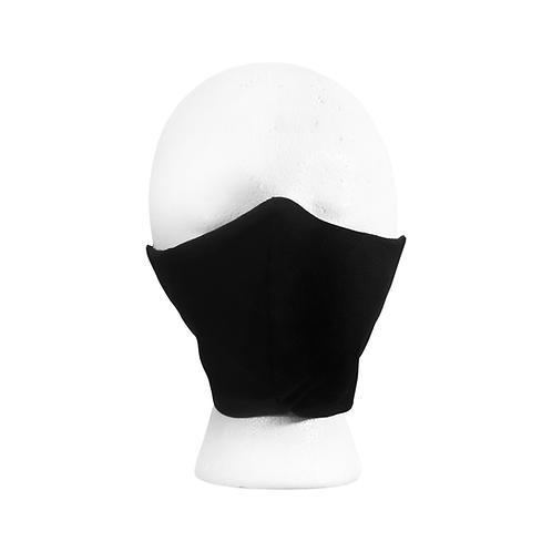 Black denim mask