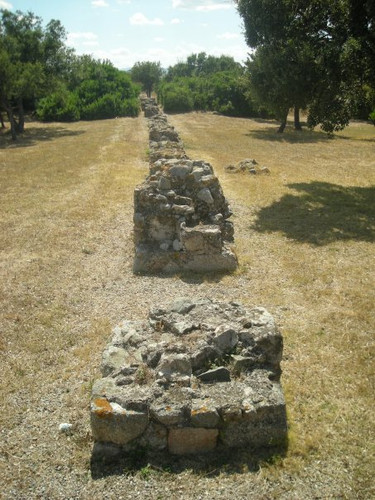 Fot resti Acquedotto Romano Olbia