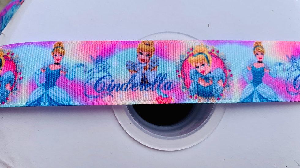 Cinderella 25mm grosgrain ribbon