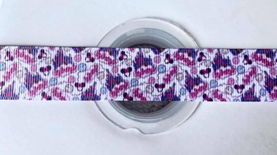Castle 22mm grosgrain ribbon per meter