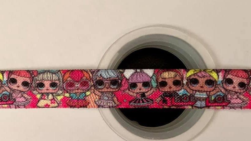 Lol 16mm fold over elastic ribbon per meter