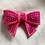 Thumbnail: Small sequin bows pink or purple