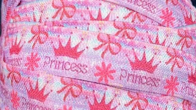 Princess fold over elastic ribbon 16mm per meter