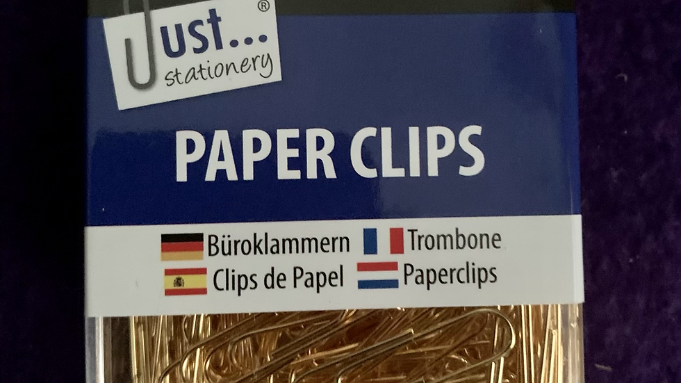 Just stationery Paper clips