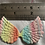 """Thumbnail: Little angel wings 2.5"""" approx various colours"""