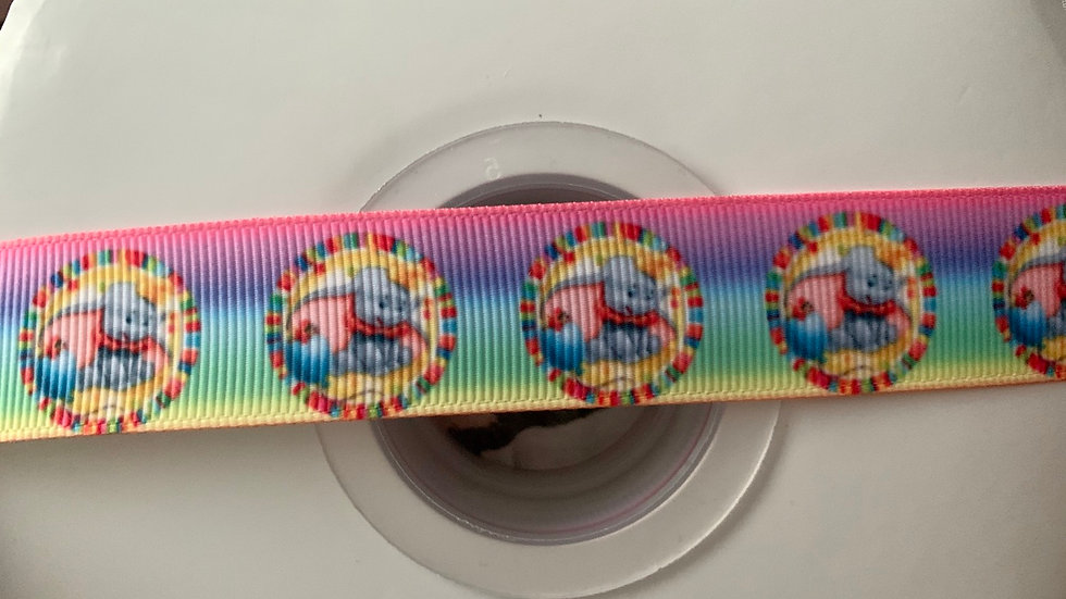 Dumbo 22mm grosgrain ribbon by meter