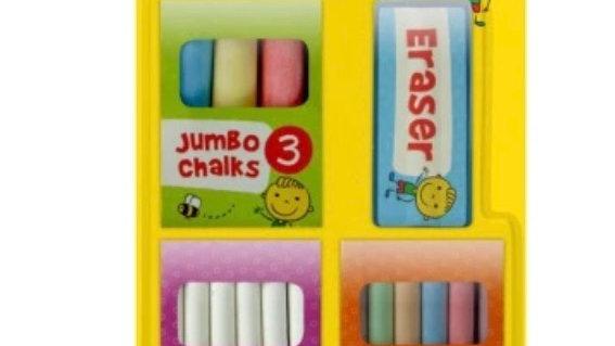 Signature chalk and eraser set 16 pack
