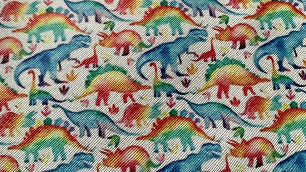 Dinosaur faux leather sheets 22x30cm approx