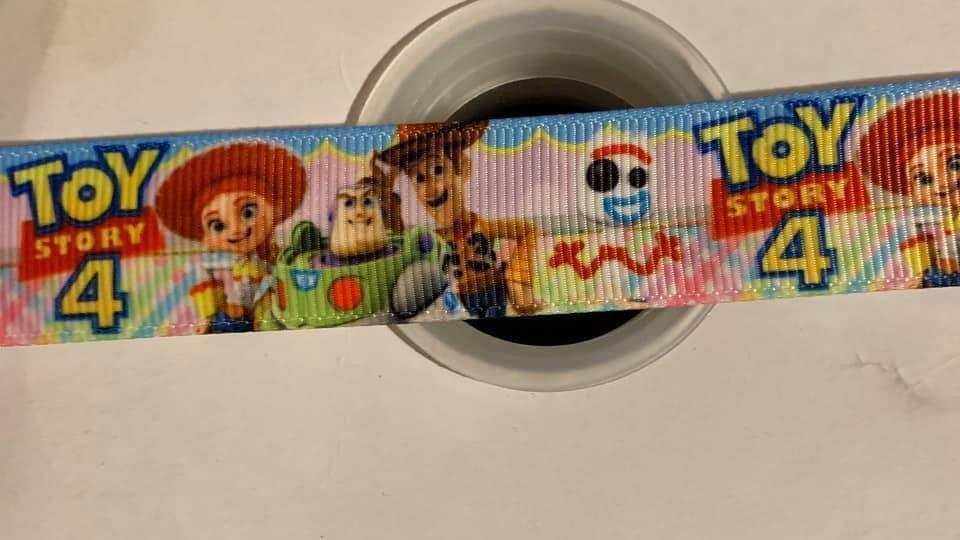 Toy story 22mm grosgrain ribbon Per meter