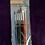 Thumbnail: 6 pcs artist brushes, assorted colours