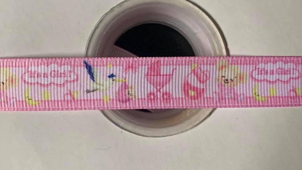 It's a girl 16mm grosgrain ribbon per meter