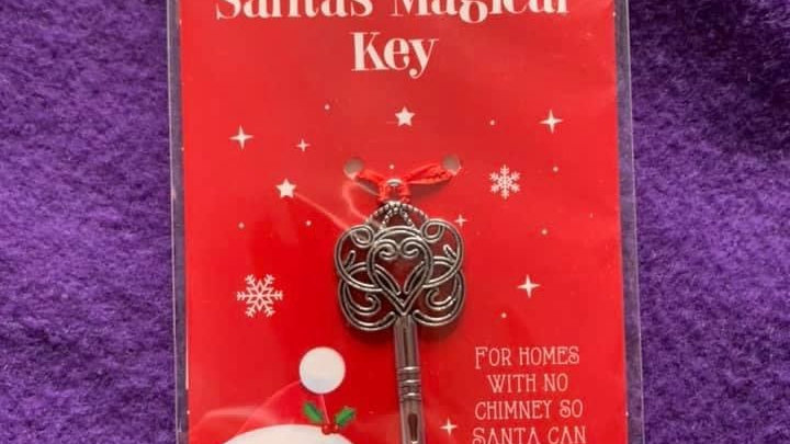 Santa's magical key!