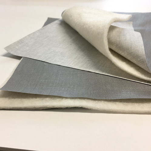 DIY - Batting and heat resistant metallic fabric KIT