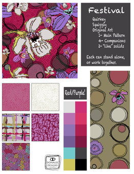 Festival Collection Red-Purple