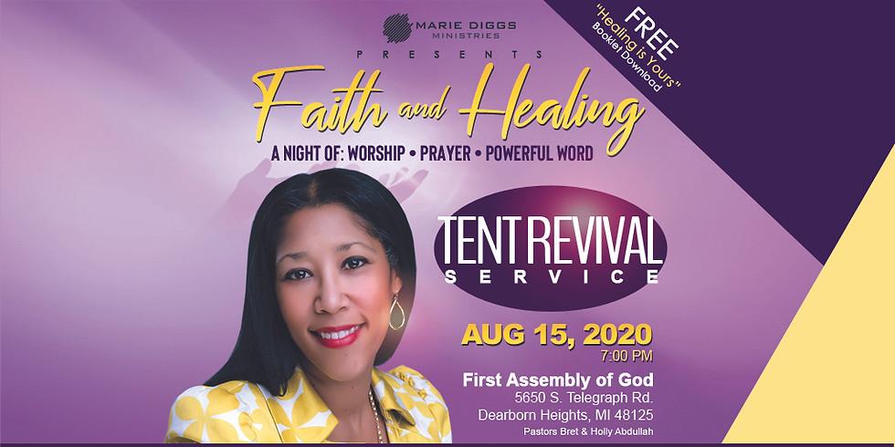 Faith & Healing Service - August 15th