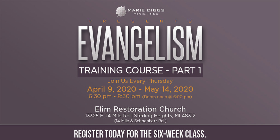 Evangelism Training Course - Part 1