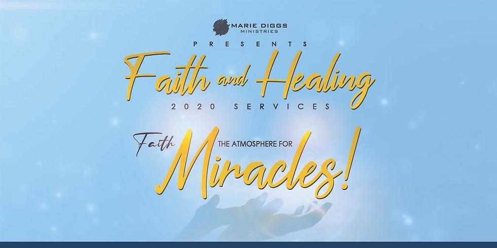 Faith & Healing Service - July 23th