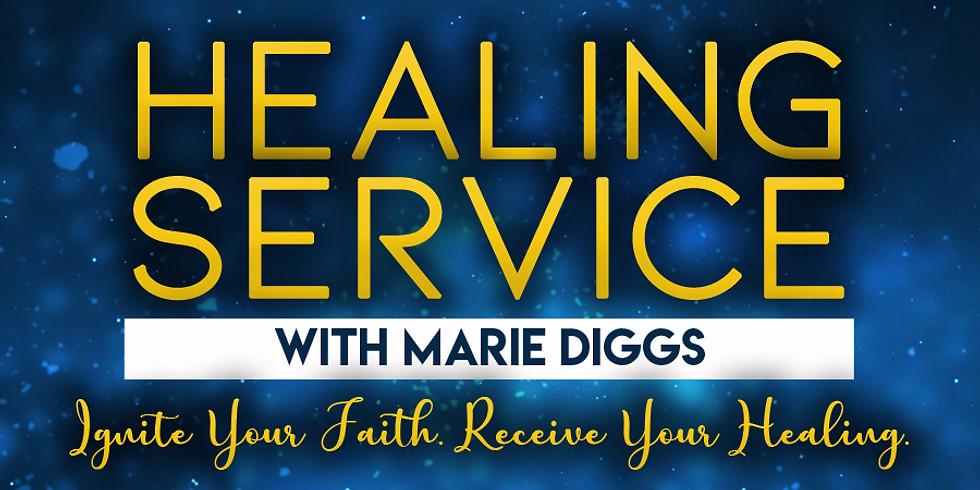 Healing Service w/Marie Diggs