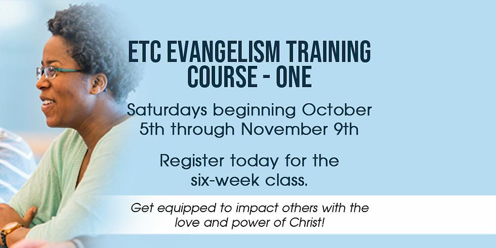 Evangelism Training Course One