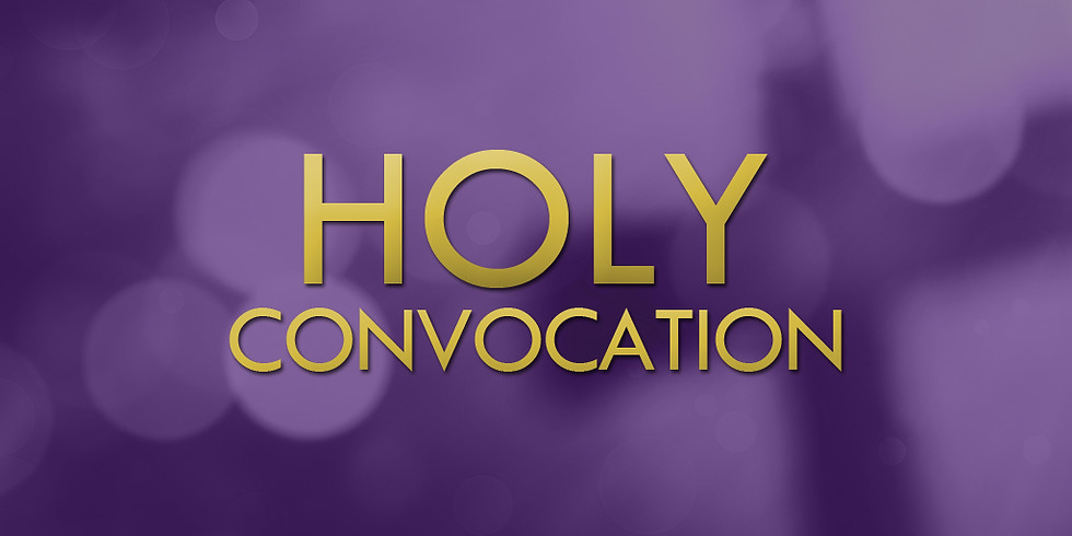 Join Marie Diggs (Holy Convocation - Day 2)