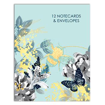 Bee Wild themed Notecard Wallet