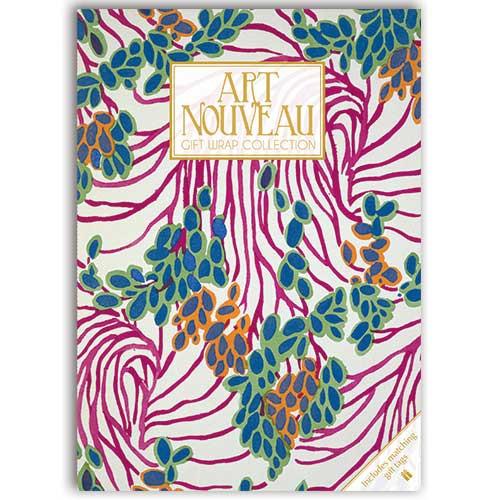 Art Nouveau themedGift Wrap