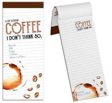 Coffee themed Shopping List