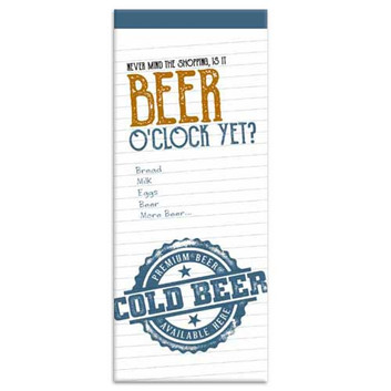 Beer themed Shopping List