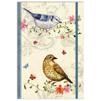 Belle Faune themed A5 Notebook