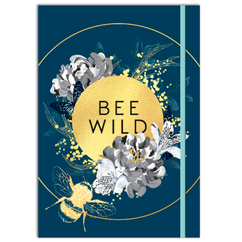 Bee Wild A5 Notebook.png