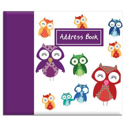 Owl themed Address Book