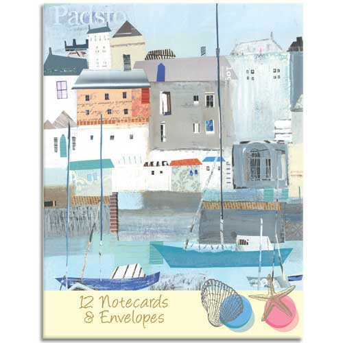 By the Sea themed Notecard Wallet