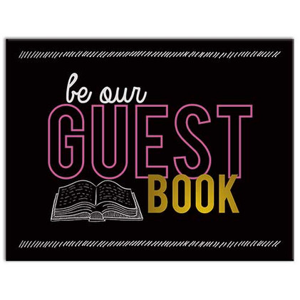 Right On! themed Guest Book