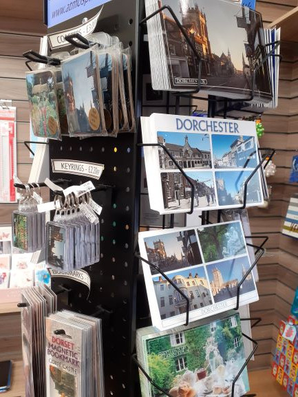 Dorset postcards, keyrings, fridge magnets & more