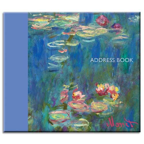 Monet themed Address Book