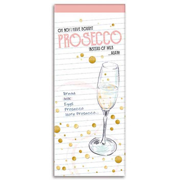 Prosecco themed Shopping List